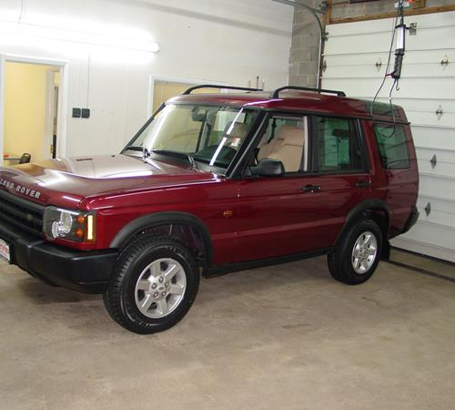 2000 Land Rover Discovery Exterior