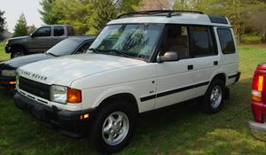 1996 Land Rover Discovery Exterior