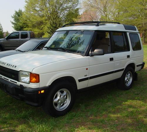 1997 Land Rover Discovery Exterior