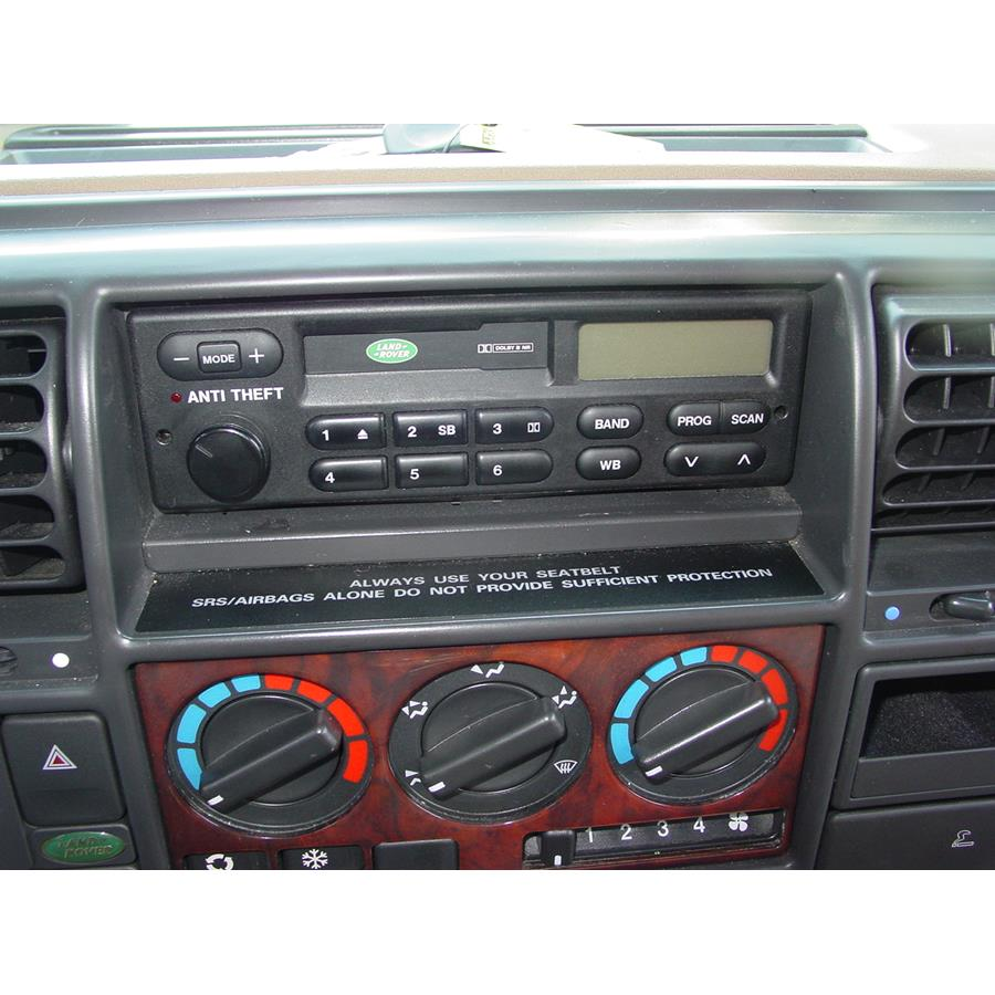 1998 Land Rover Discovery Factory Radio