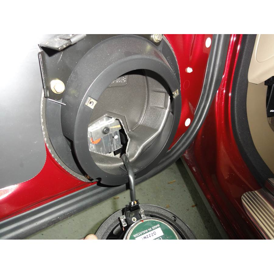 2004 Jaguar XK8 Front door woofer removed