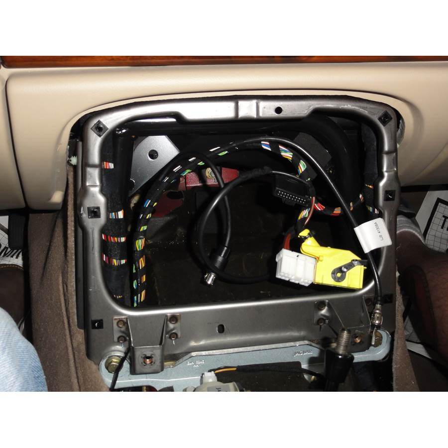 2004 Jaguar XK8 Factory radio removed