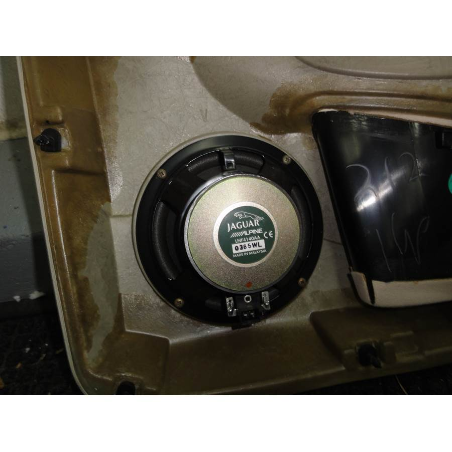 2002 Jaguar Van Den Plas Rear door woofer