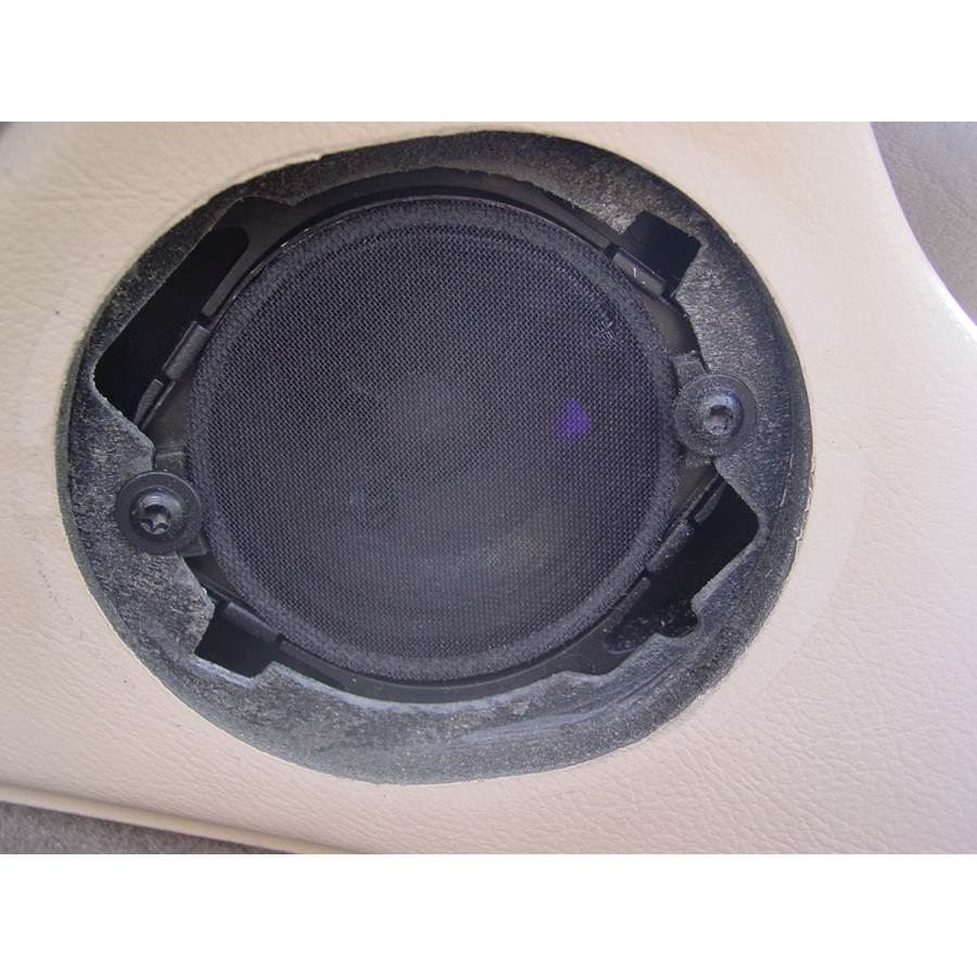 2000 Jaguar S-Type Center console speaker