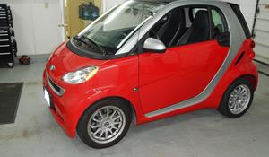 2009 Smart fortwo Exterior