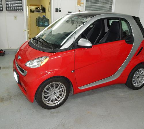 2011 Smart fortwo Exterior