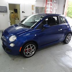 exterior fiat 500 audio radio, speaker, subwoofer, stereo 2012 Fiat 500 Pop Interior at gsmx.co