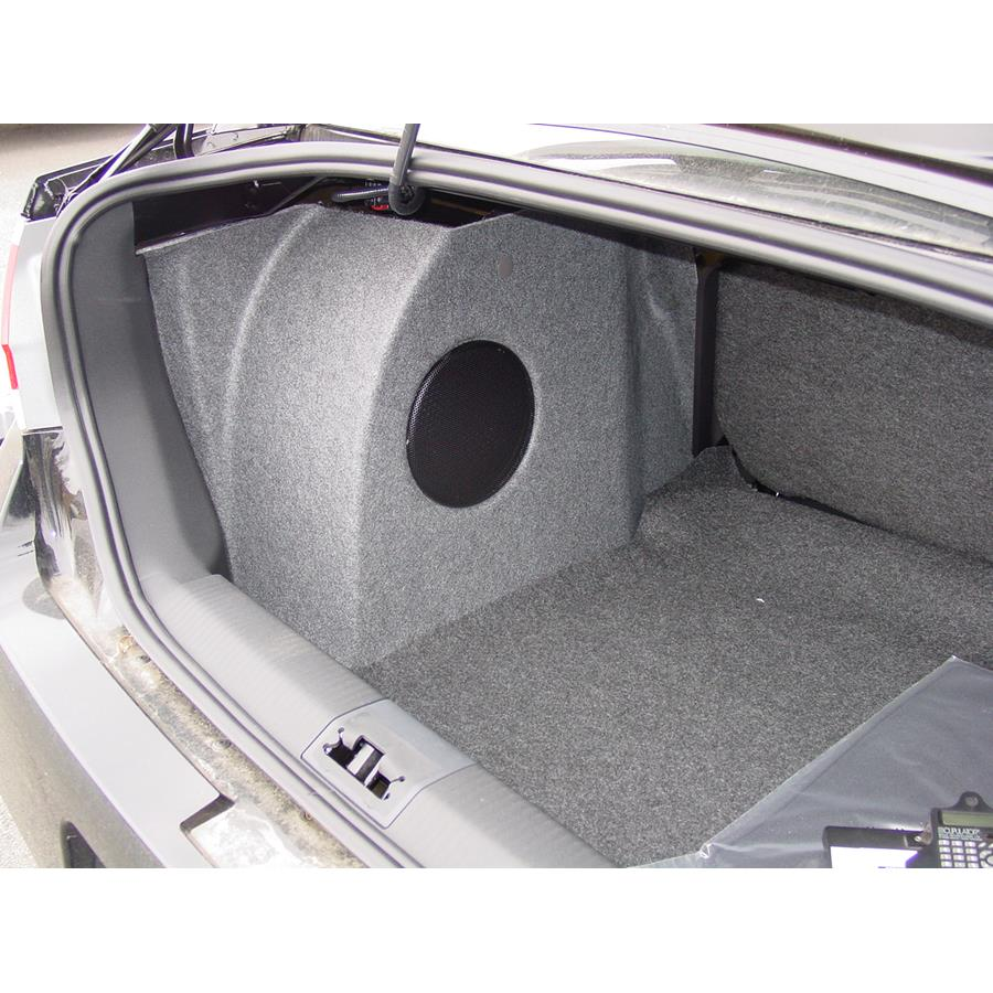 2011 Ford Focus Trunk speaker location