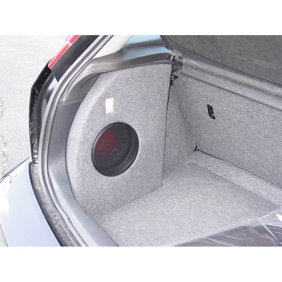 2006 Ford Focus ZX3 Far-rear side speaker location