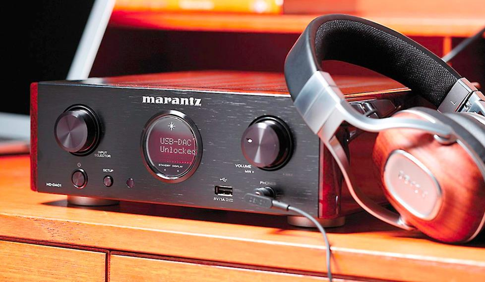 Marantz HD-DAC1 Headphone amplifier/DAC/preamp