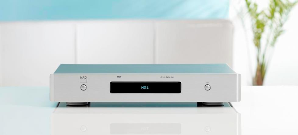 NAD Masters Series M51 Stereo DAC/digital preamp (Silver)