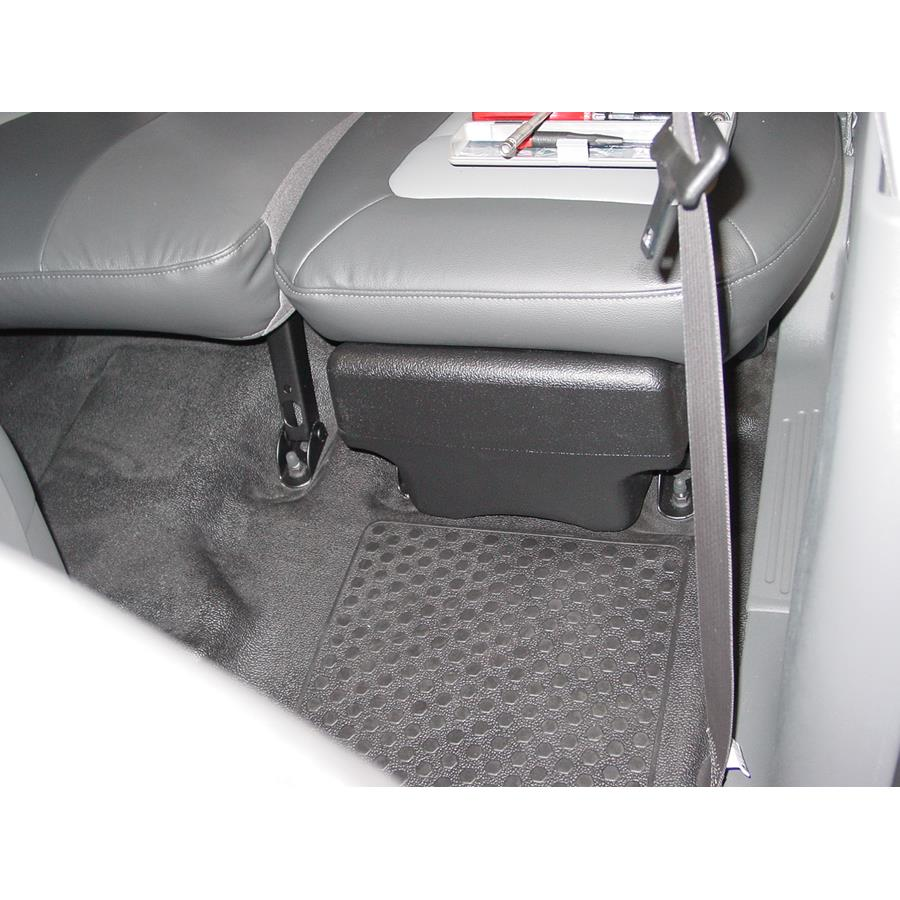 2004 Ford Explorer Sport Trac Far-rear side speaker location