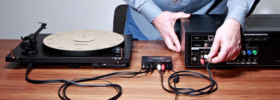 preamp turntable hookup