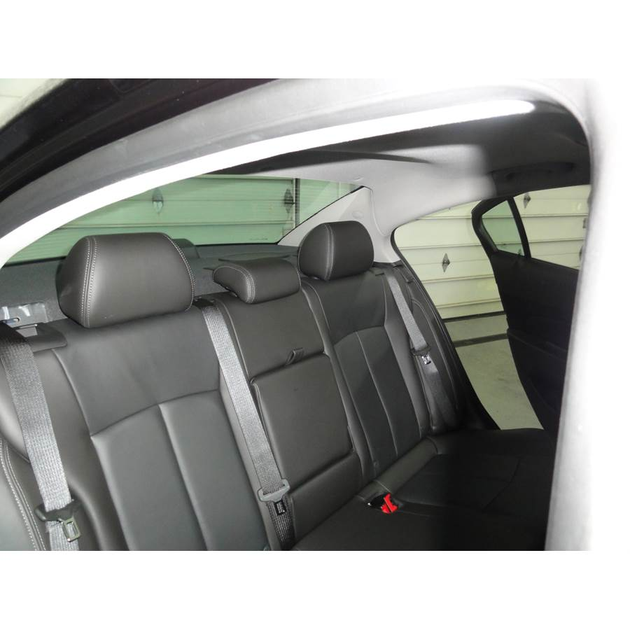 2014 Chevrolet Cruze Rear deck speaker location