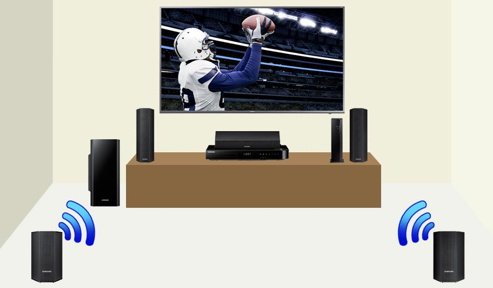 Samsung home theater in a box system