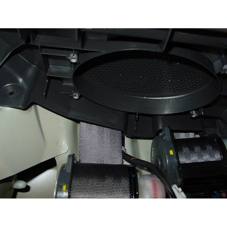 2005 Chevrolet Aveo Side panel speaker removed