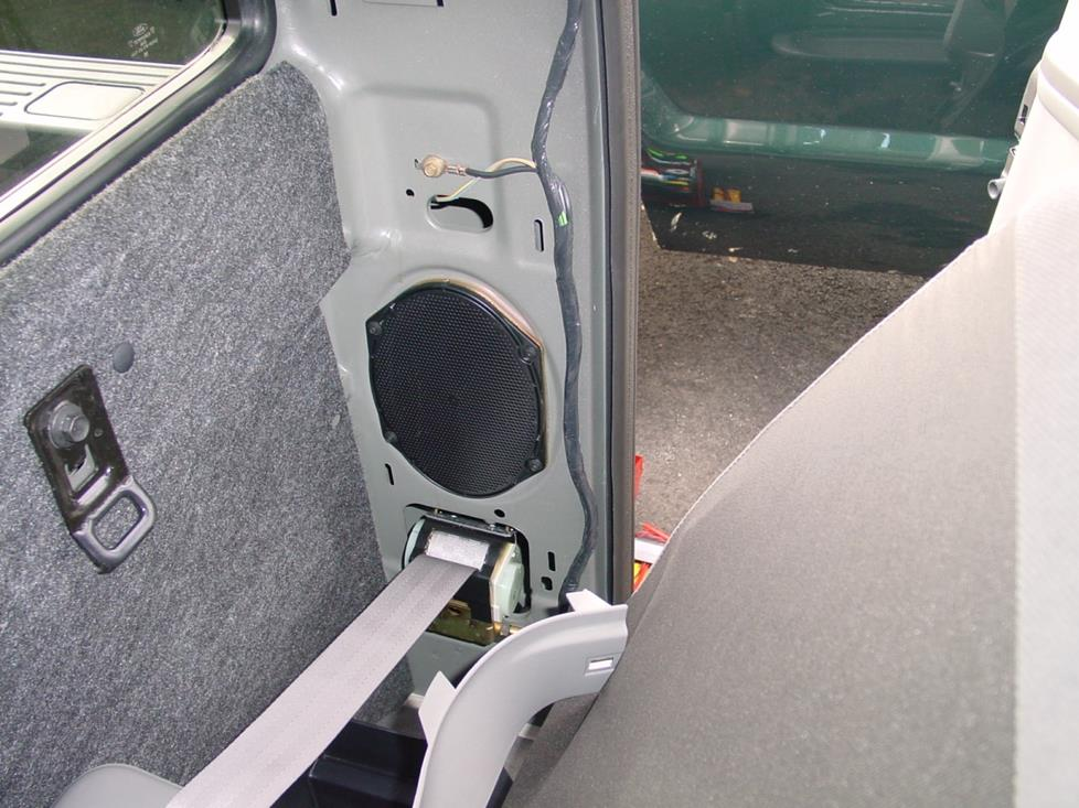 ford f-250 f-350 clubcab door speaker