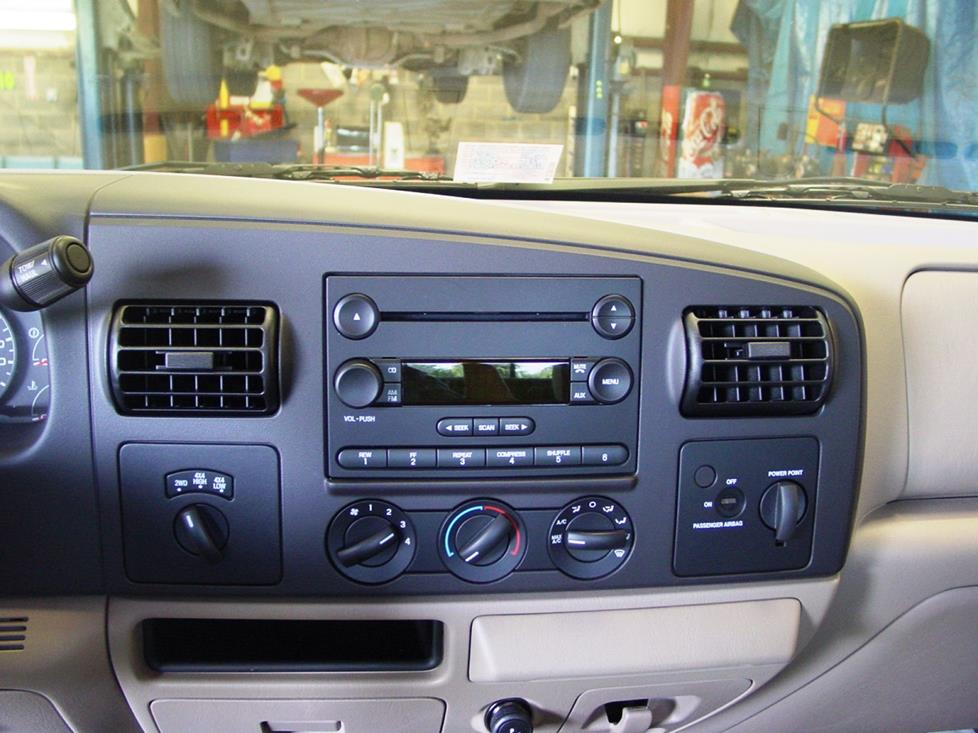 Radio on Ford Super Duty Wiring Diagram