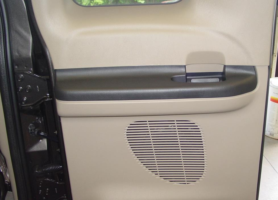 ford f-250 f-350 extended cab rear door speaker