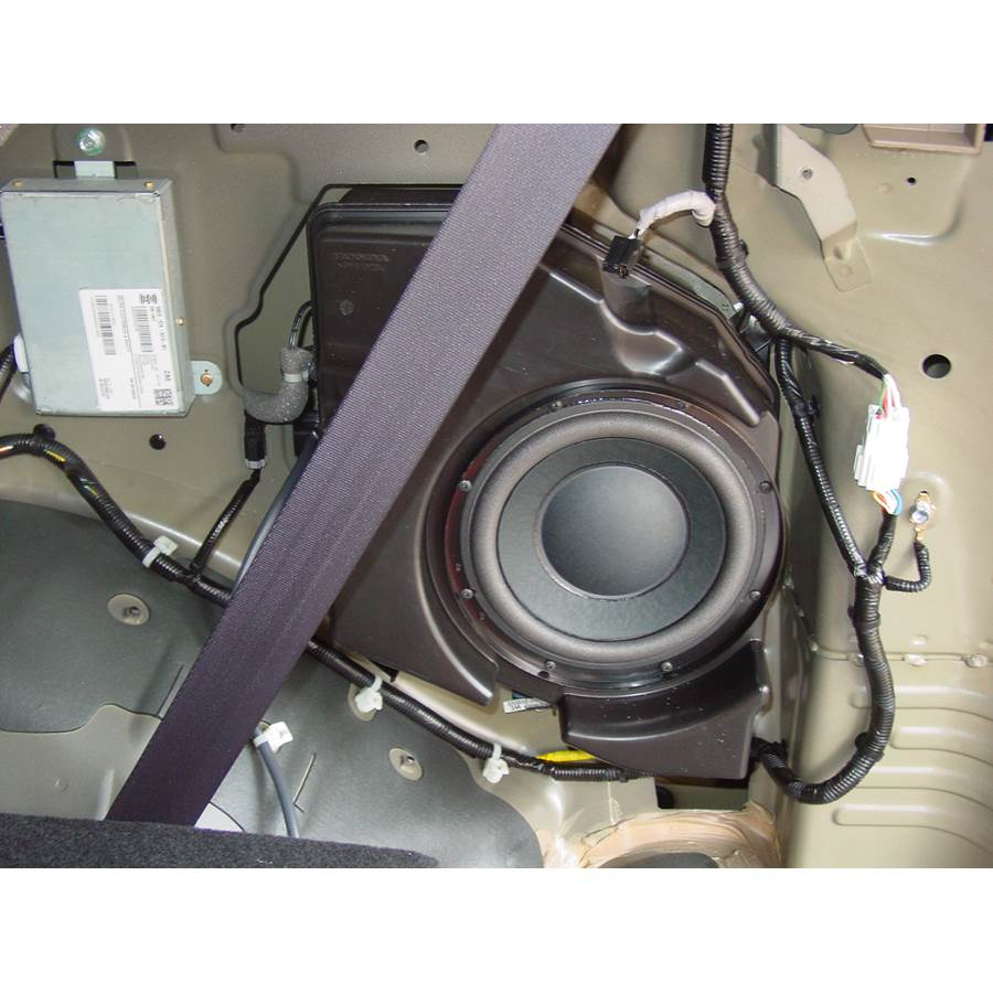 2009 Honda Pilot Far-rear side speaker