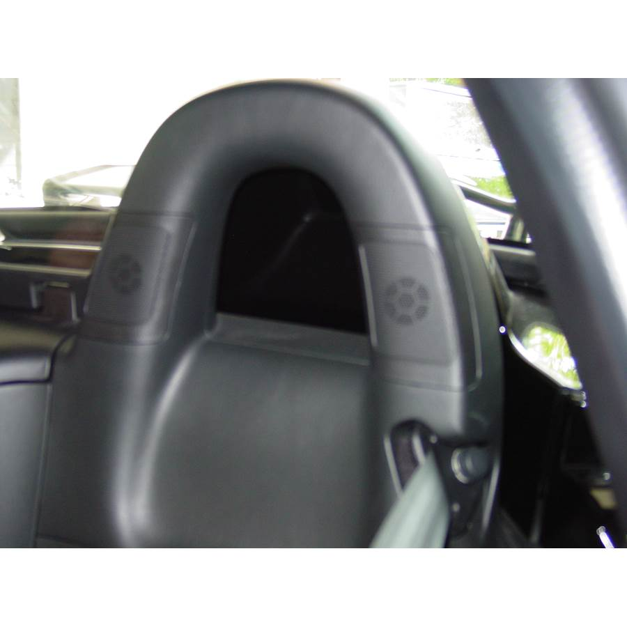 2006 Honda S2000 Rear cab speaker location