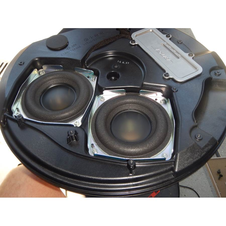 2014 Nissan Rogue Under cargo floor speaker