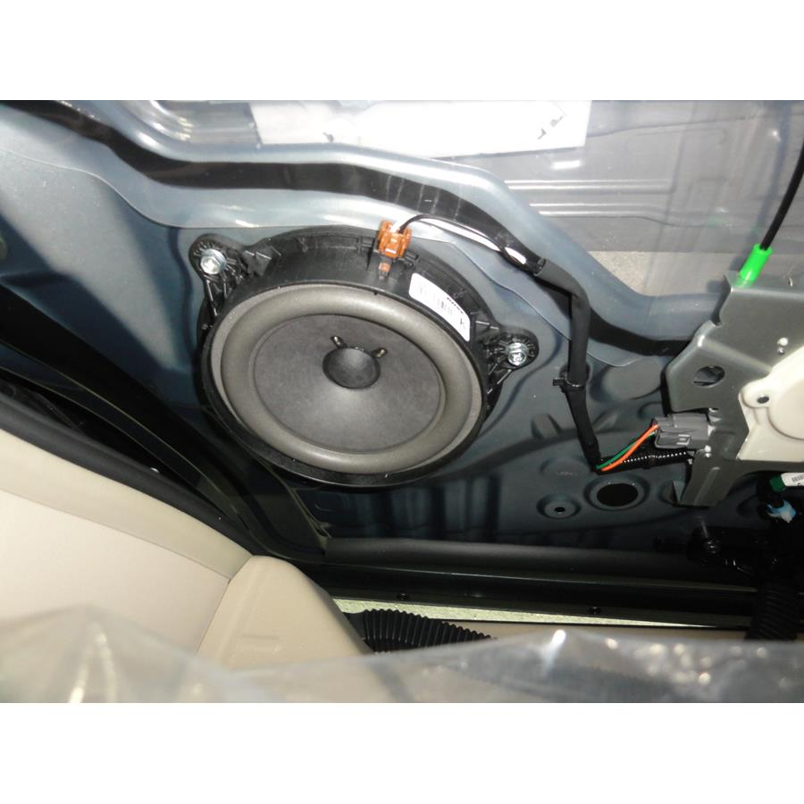 2016 Nissan Quest Rear door woofer