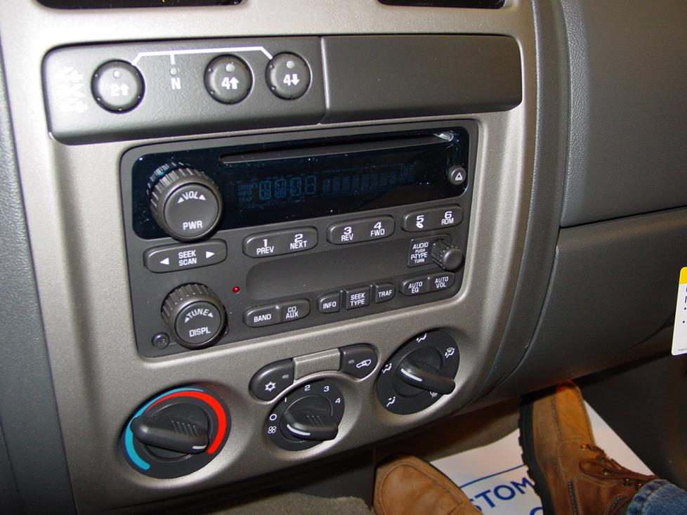 radio 2004 2012 chevy colorado and gmc canyon; 2006 2008 isuzu i series  at virtualis.co