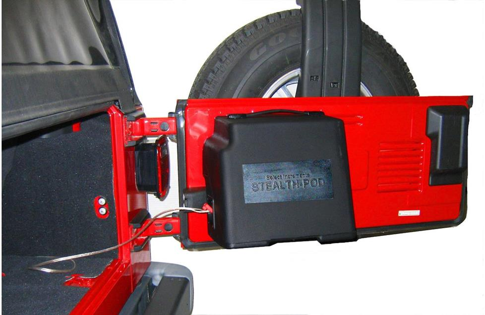 select increments stealthpod jeep wrangler