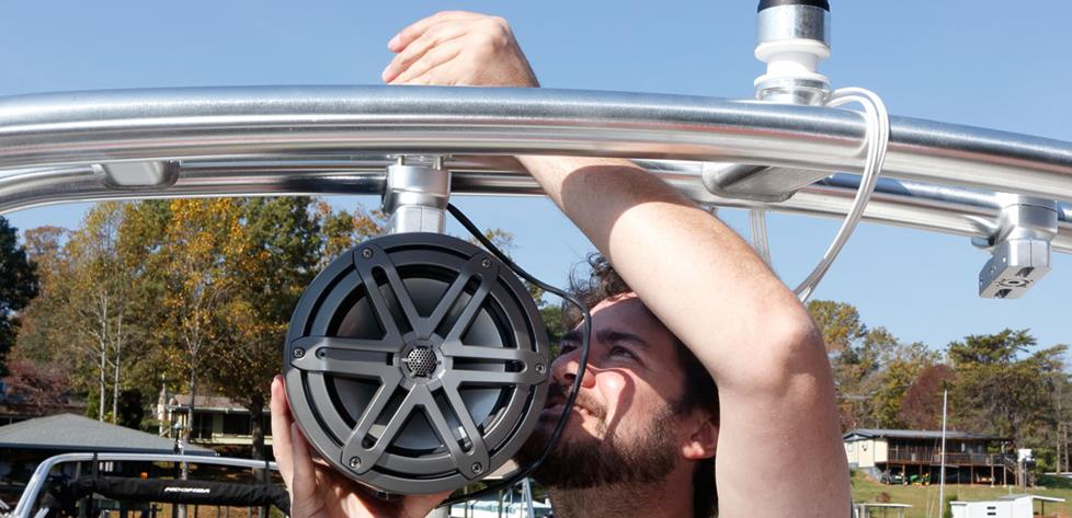 Tips for Installing Tower Speakers on a Boat Malibu Illusion Tower Wiring Diagram on
