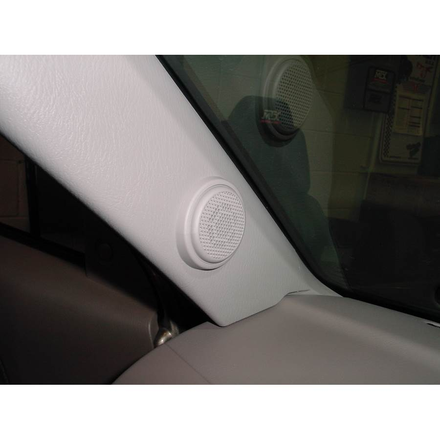 2003 Nissan Frontier Dash speaker location