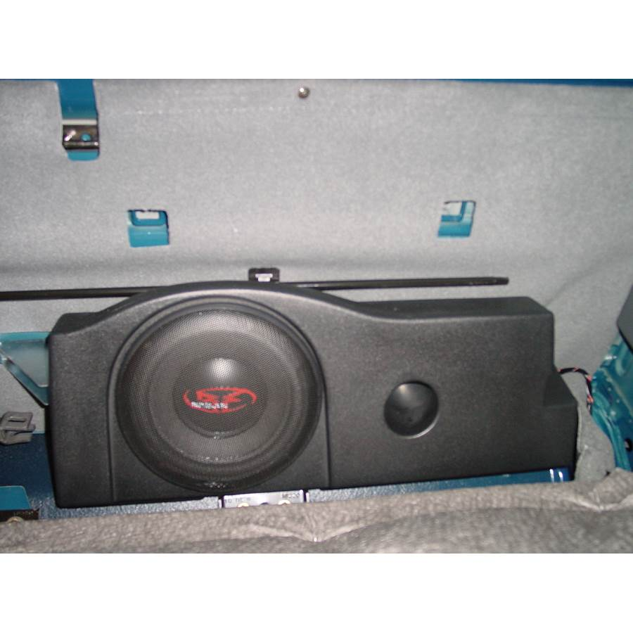 2003 Nissan Frontier Rear cab speaker location