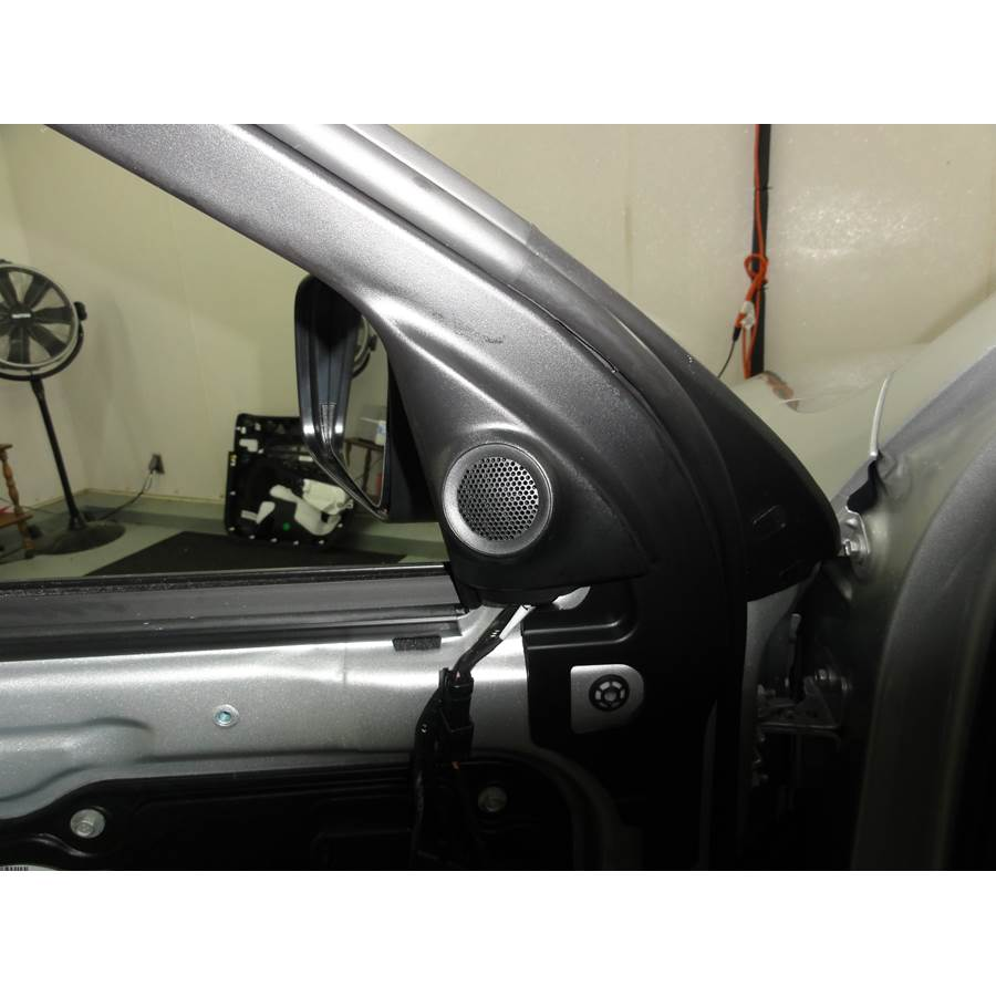 2011 Dodge Durango Front door tweeter location