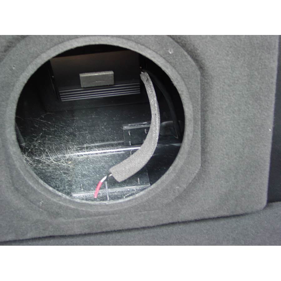 2006 Dodge Magnum Rear hatch speaker removed