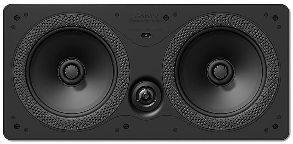 Image of center channel speaker.