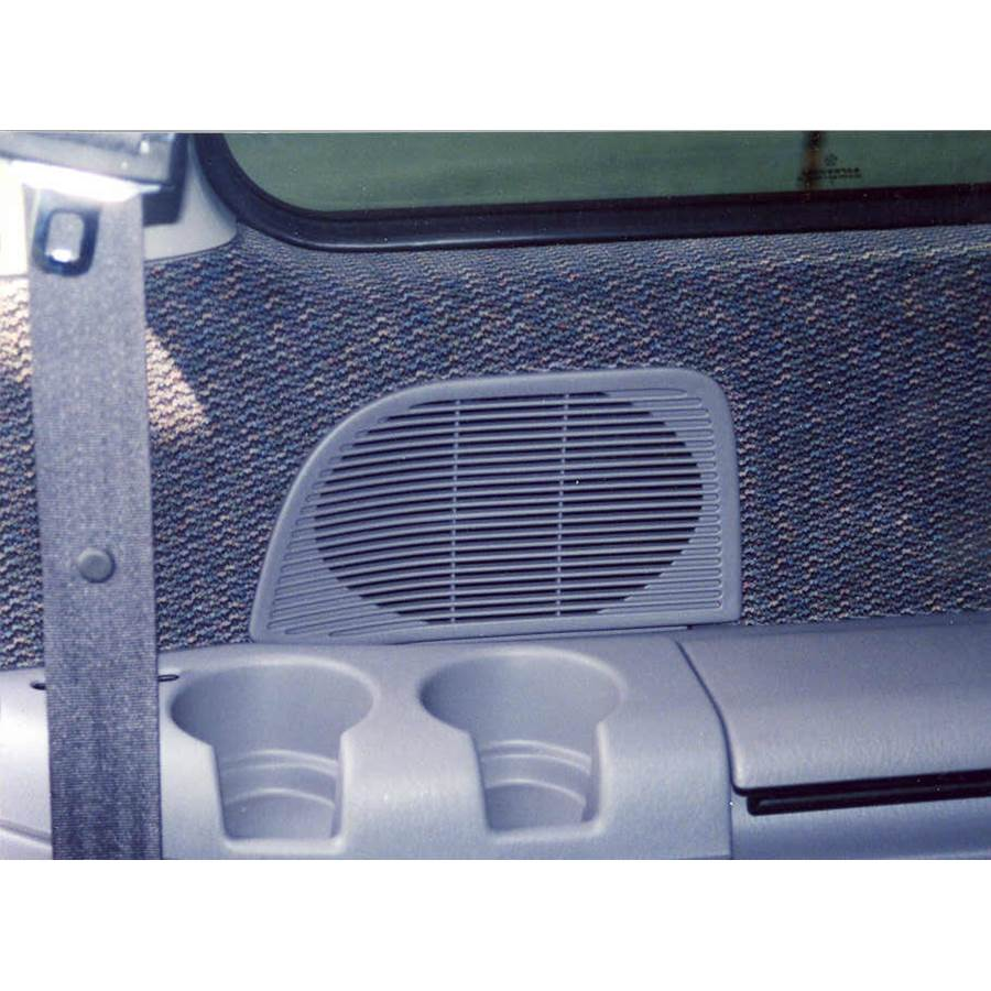 1997 Dodge Caravan Mid-rear speaker location