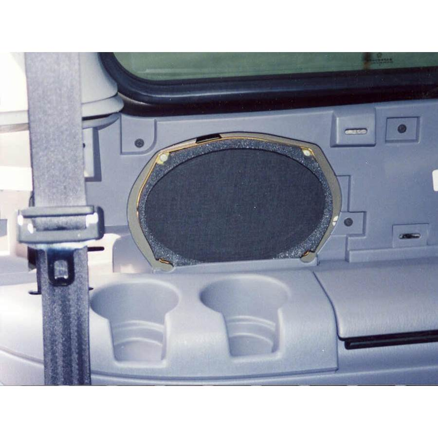 1997 Dodge Caravan Mid-rear speaker