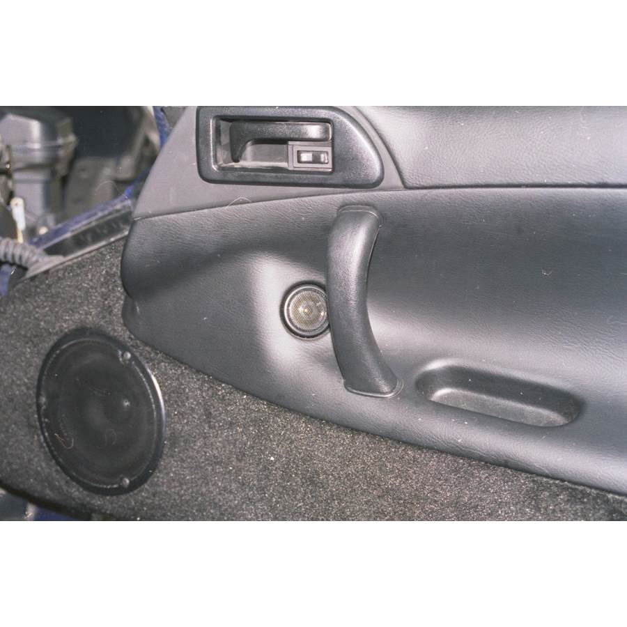 1999 Dodge Viper Front door tweeter location