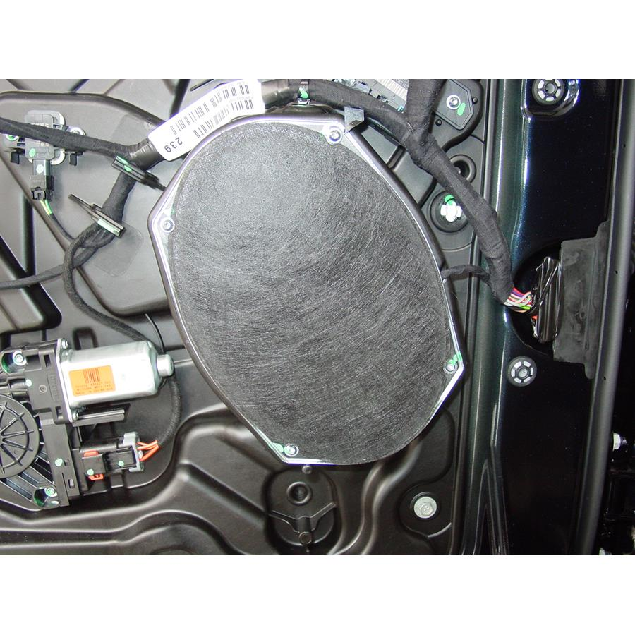 2012 Jeep Grand Cherokee Front door woofer