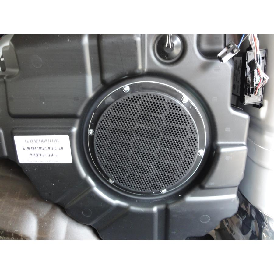 2012 Jeep Grand Cherokee Far-rear side speaker