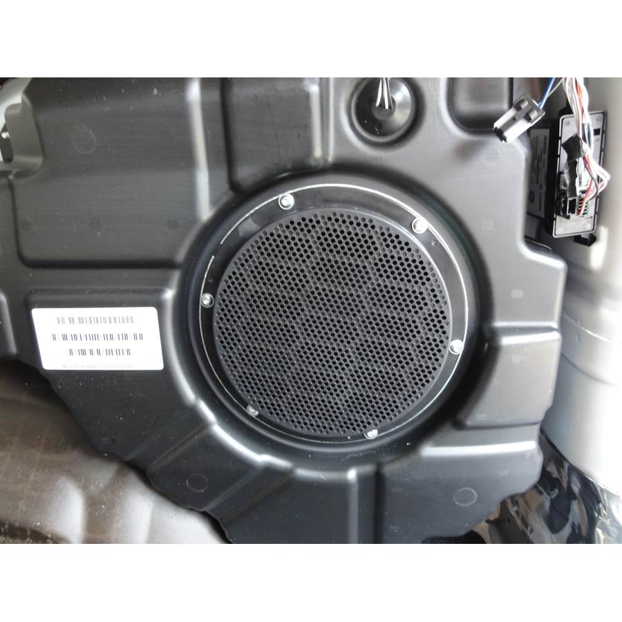 2016 Jeep Grand Cherokee Far-rear side speaker