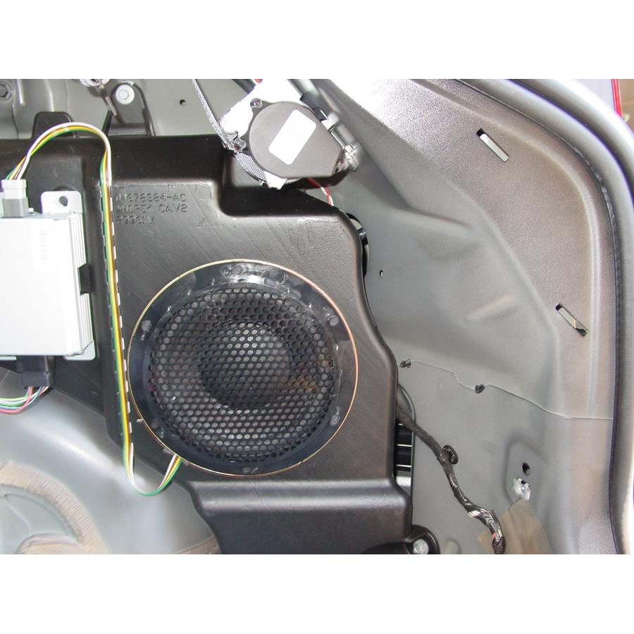 2008 Jeep Patriot Far-rear side speaker