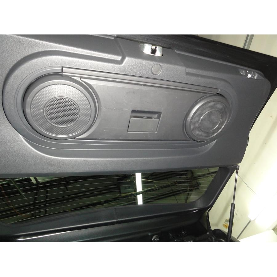 2008 Jeep Patriot Tail door speaker location