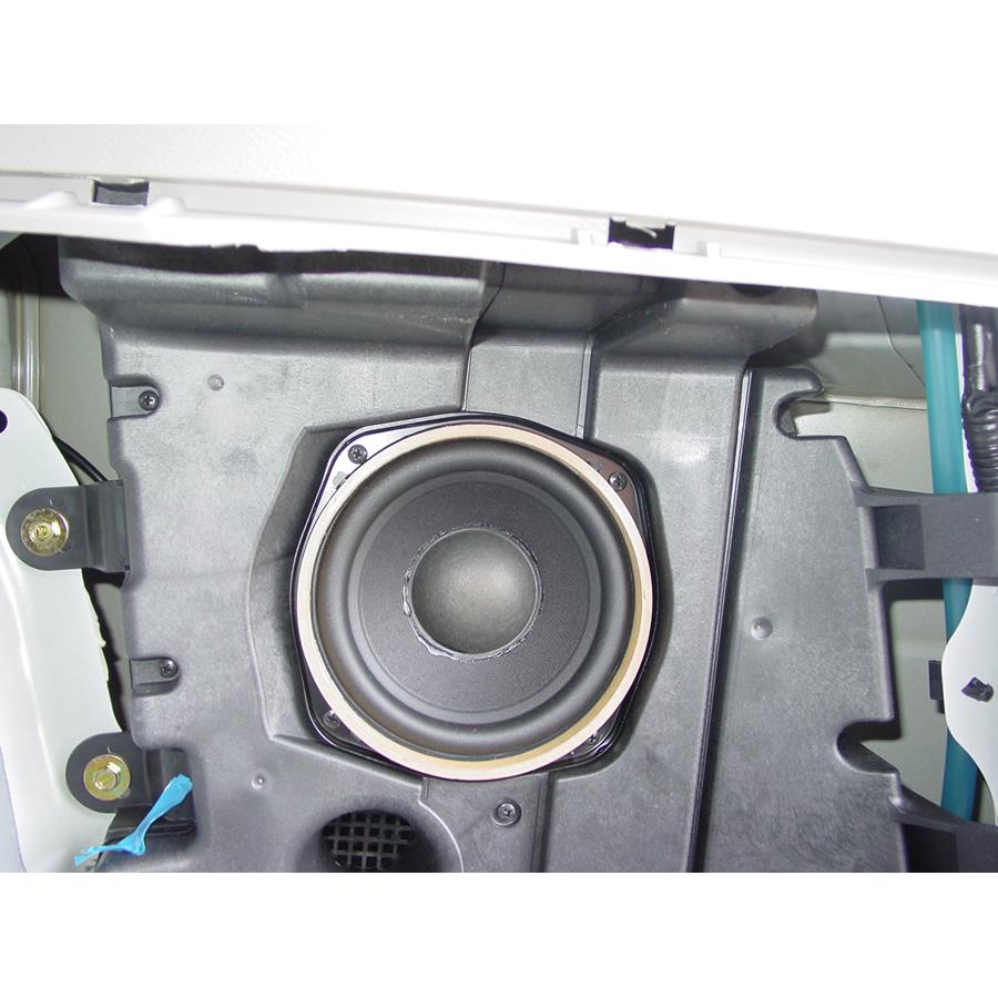 2014 Subaru Tribeca Far-rear side speaker