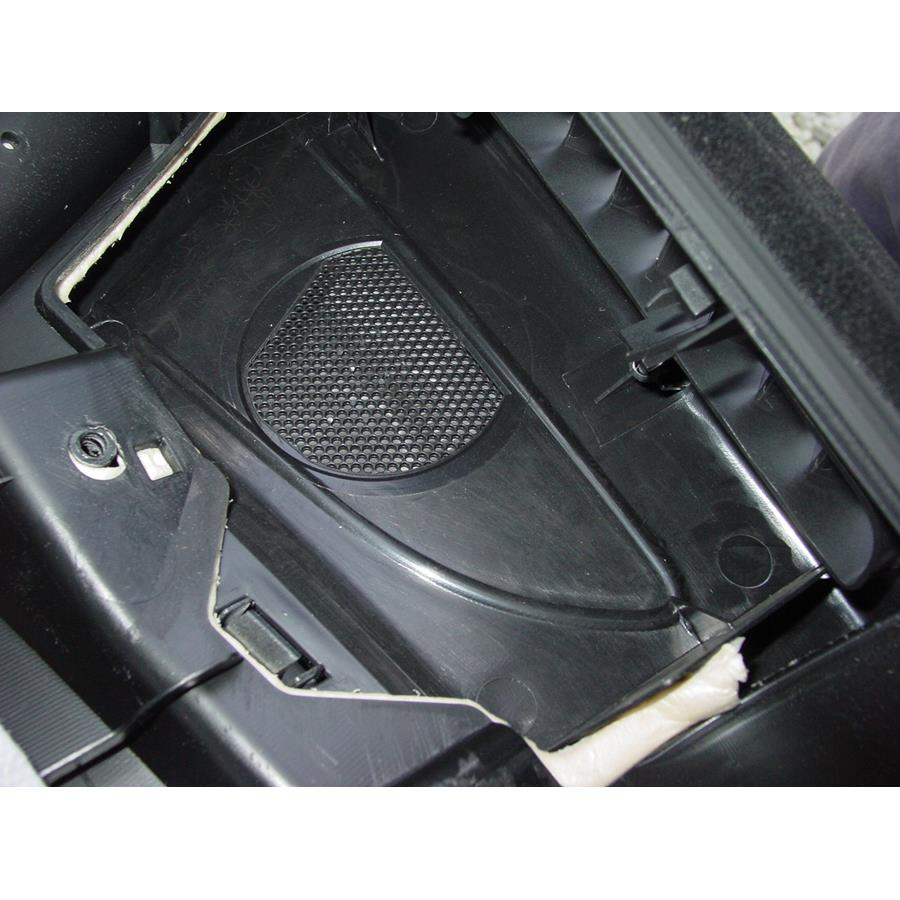 2014 Subaru Tribeca Front door tweeter removed