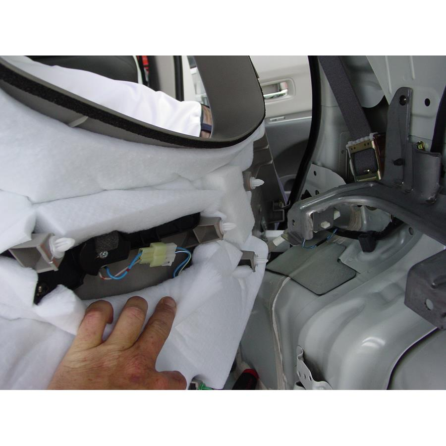 2014 Subaru Tribeca Rear pillar speaker