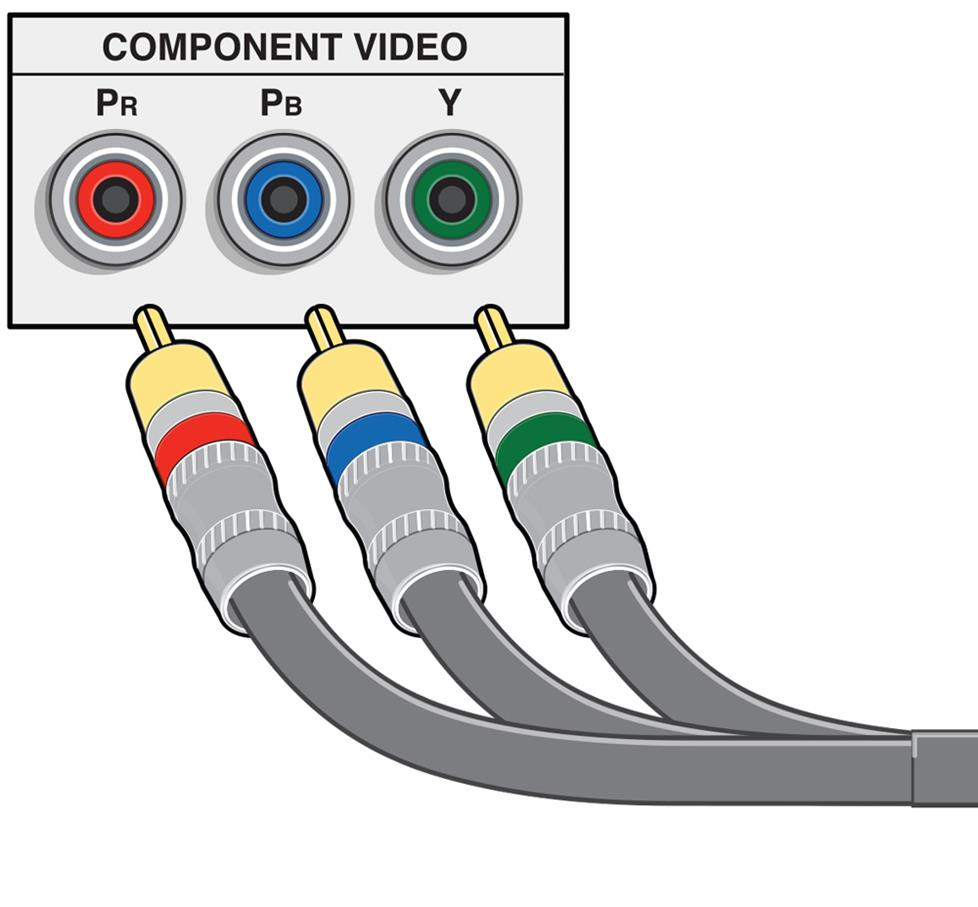 Home A V Connections Glossary Wiring Diagram For Speaker Wire To Rca Adapter In Car With 4 Speakers Component Video Cable