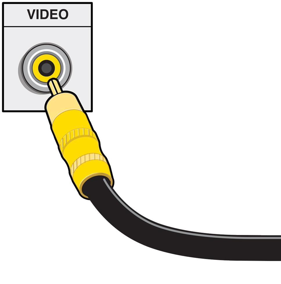 Home A V Connections Glossary Wiring Video Cables Composite Cable