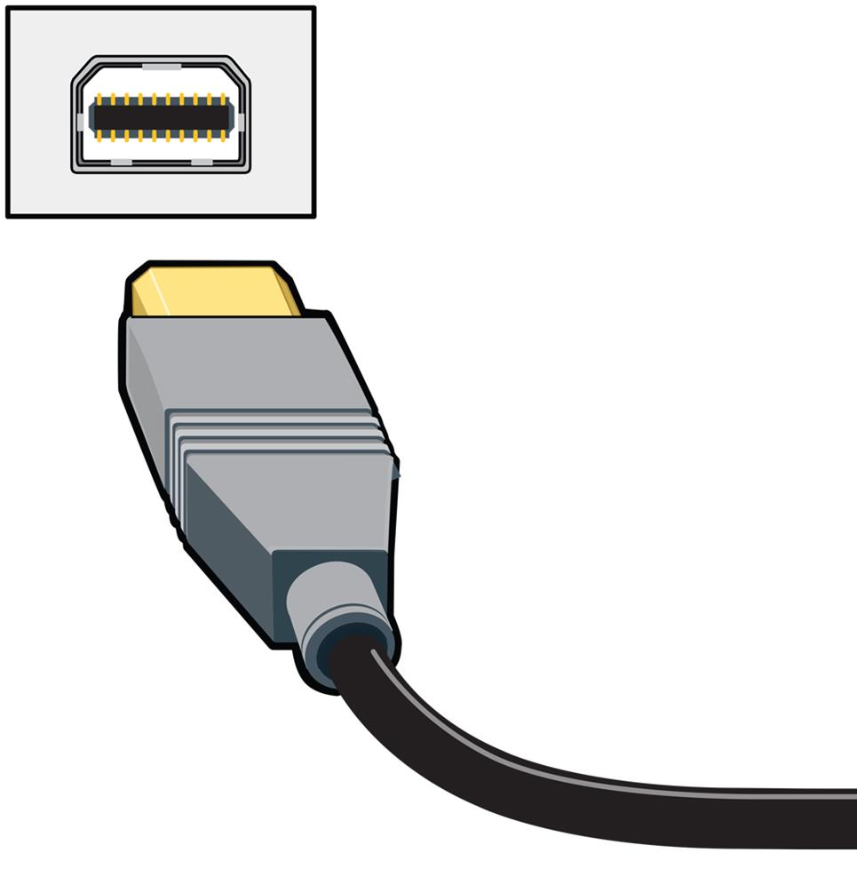 Home A V Connections Glossary 8 Pin Mini Din Wiring Diagram Displayport