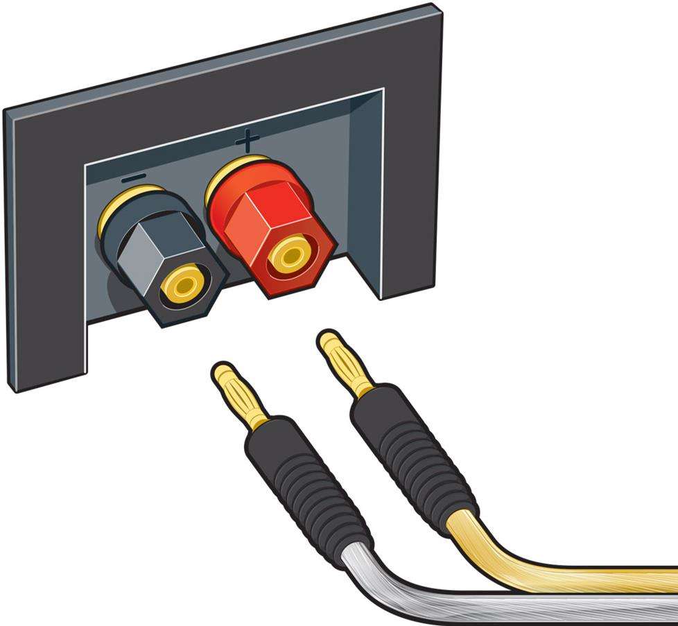 Home A V Connections Glossary Window Would Be Power The Red Wire And Ground White Here Is Banana Plugs